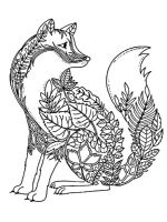 zentangle-fox-coloring-pages-9