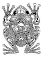 zentangle-frog-coloring-pages-5
