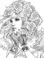 zentangle-girl-coloring-pages-10