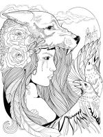 zentangle-girl-coloring-pages-7