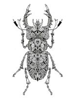 zentangle-insect-coloring-pages-24