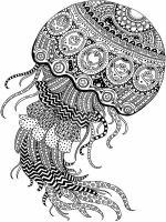 zentangle-jellyfish-coloring-pages-7