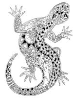 zentangle-lizard-coloring-pages-1