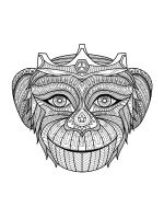 zentangle-monkey-coloring-pages-2