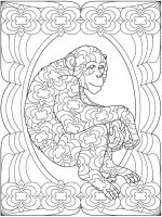 zentangle-monkey-coloring-pages-3