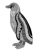 zentangle-penguin-coloring-pages-12