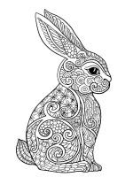 zentangle-rabbit-coloring-pages-12