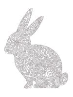 zentangle-rabbit-coloring-pages-2