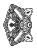zentangle-raccoon-coloring-pages-12