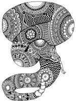 zentangle-snake-coloring-pages-2