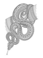zentangle-snake-coloring-pages-5