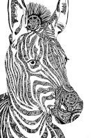 zentangle-zebra-coloring-pages-2