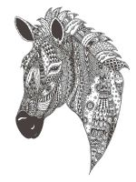 zentangle-zebra-coloring-pages-4