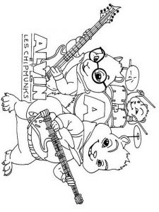 Alvin-and-the-Chipmunks-coloring-pages-8
