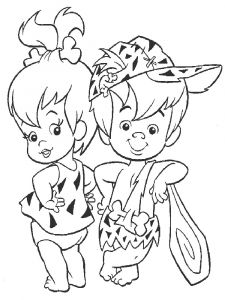 Flintstones-coloring-pages-11