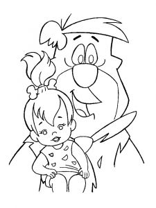 Flintstones-coloring-pages-19