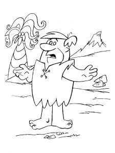 Flintstones-coloring-pages-2