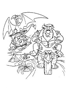 Flintstones-coloring-pages-21