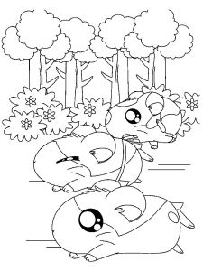 Hamtaro-coloring-pages-11