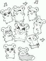 Hamtaro-coloring-pages-2