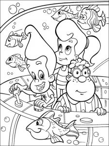 Jimmy-Neutron-coloring-pages-10