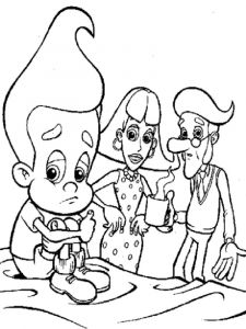 Jimmy-Neutron-coloring-pages-2