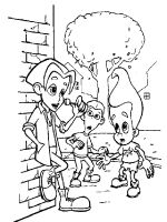 Jimmy-Neutron-coloring-pages-23