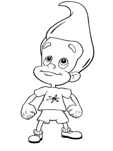 Jimmy-Neutron-coloring-pages-4