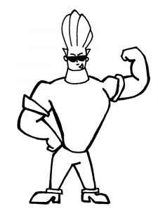 Johnny-Bravo-coloring-pages-12