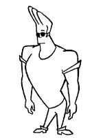 Johnny-Bravo-coloring-pages-7