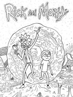 Rick-and-Morty-coloring-pages-3