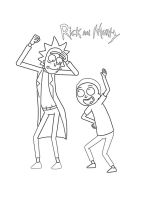 Rick-and-Morty-coloring-pages-4