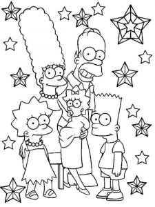 the-simpsons-coloring-pages-1