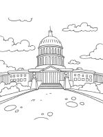US-Capitol-Building-coloring-pages-3