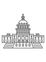 US-Capitol-Building-coloring-pages-7
