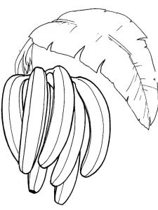 Banana-fruits-coloring-pages-8
