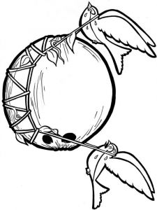 Coconut-fruits-coloring-pages-12