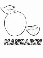 Mandarin(Tangerine)-fruits-coloring-pages-1