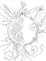Pomegranate-coloring-pages-1