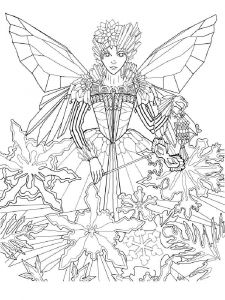 christmas-fairy-coloring-pages-3