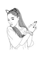 Ariana-Grande-coloring-pages-1