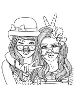 Best-friend-coloring-pages-7