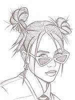 Billie-Eilish-coloring-pages-1