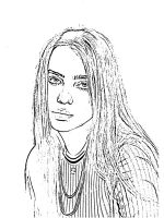 Billie-Eilish-coloring-pages-2