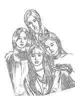 BlackPink-coloring-pages-4