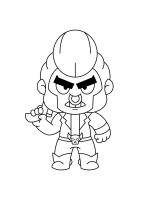 bull-brawl-stars-coloring-pages-2