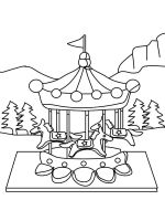 Carousel-coloring-pages-9