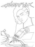 Cyberpunk2077-coloringpages-10