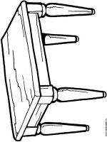 Kitchen-Table-coloring-pages-1
