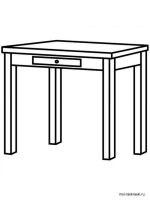 Kitchen-Table-coloring-pages-8